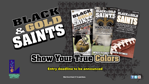 Black & Gold Saints no script