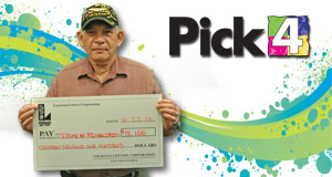 army veteran wins big on pick 4