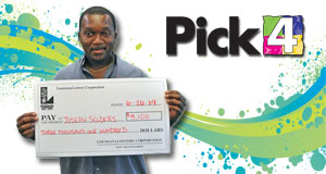 Joseph Selders's Pick 4 winner photo