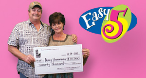 Mary Hemminger's Easy 5 winner photo