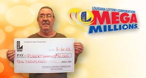 Robert Hammons, Jr. 's Mega Millions winner photo