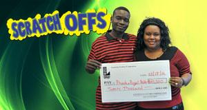 Rozell Felder's Break The Bank winner photo