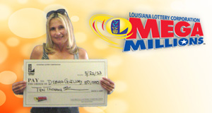 Debra Guilllory's Mega Millions winner photo