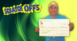 Vincente Regalado's $200,000 Jumbo Bucks winner photo