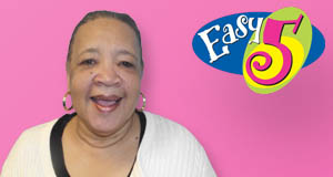 Elrecie Lewis's Easy 5 winner photo
