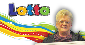 Nancy Spell's Lotto winner photo
