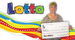 Melinda Cormier's Lotto winner photo