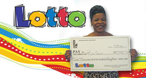 Rita Gant's Lotto winner photo