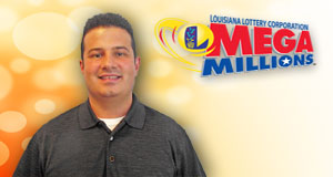 James Victorino's Mega Millions winner photo